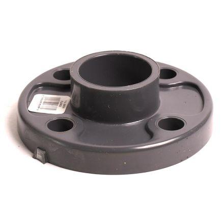 Thrifco Plumbing 8216404 1-1/4 Inch Slip PVC Floor Flange SCH 80
