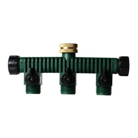 Thrifco Plumbing 8429950 Plastic Hose Faucet Manifold (62009)