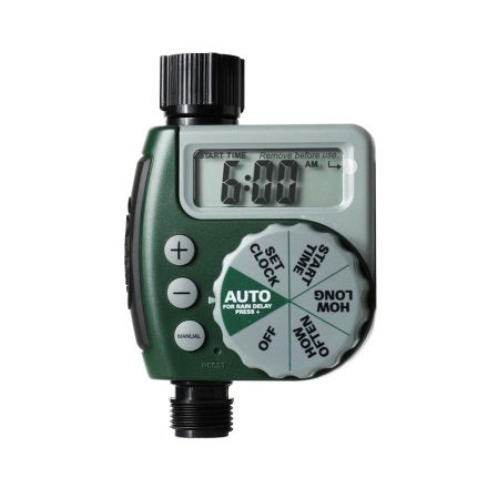 Thrifco Plumbing 8429999 1 Outlet 1 Dial Hose Faucet Timer (62061N)