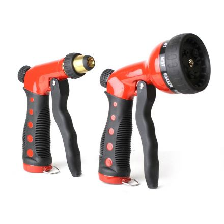 Thrifco Plumbing 8430407 Adjustable / 7-Pattern Front-Pull Nozzles Combo