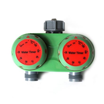 Thrifco Plumbing 8430445 25122 Two-Zone Mechanical Timer