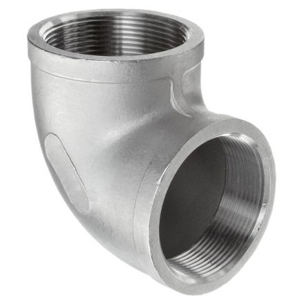Thrifco Plumbing 9017006 3/4 90 Elbow Stainless Steel  - Packaged