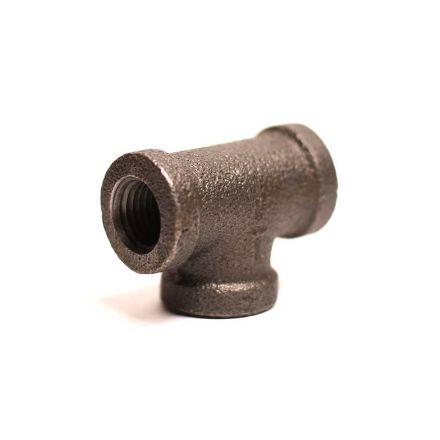 Thrifco Plumbing 9117063 1/4 Black Tee