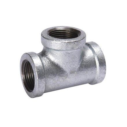 Thrifco Plumbing 9217062 1/8 Galvanized Tee