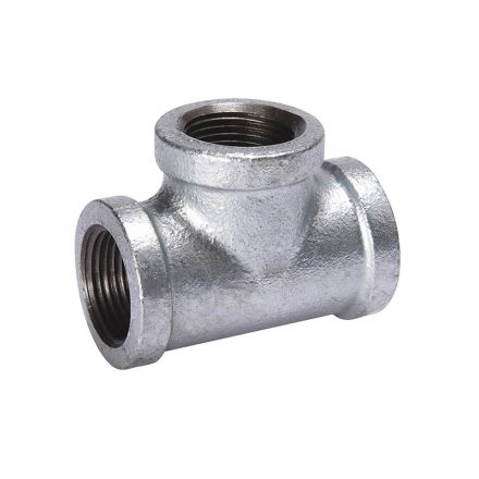 Thrifco Plumbing 9217063 1/4 Galvanized Tee