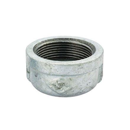 Thrifco Plumbing 9218082 3/8 Galvanized Cap