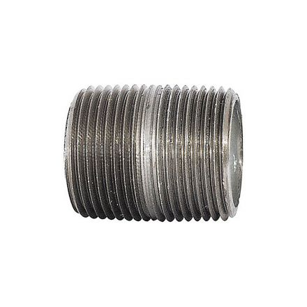 Thrifco Plumbing 9219060 1/8 X Close Galvanized Nipple