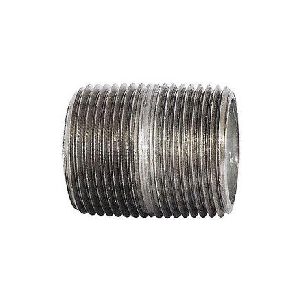 Thrifco Plumbing 9219071 1/4 X Close Galvanized Nipple
