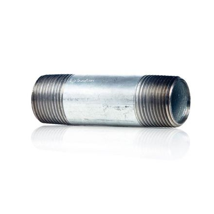 Thrifco Plumbing 9219072 1/4 X 1 1/2 Galvanized Nipple