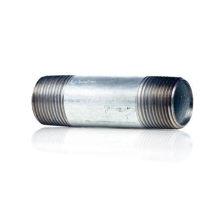 Thrifco Plumbing 9219086 3/8 X 3 Galvanized Nipple