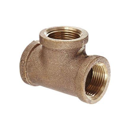 Thrifco Plumbing 9317064 3/8 Brass Tee