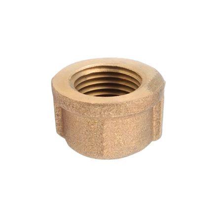 Thrifco Plumbing 9318082 3/8 Brass Cap