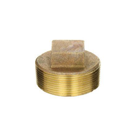 Thrifco Plumbing 9318091 3/8 Brass Plug