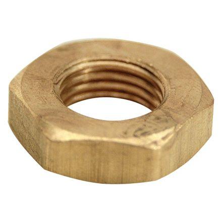 Thrifco Plumbing 9318121 1/4 Inch Brass Lock Nut