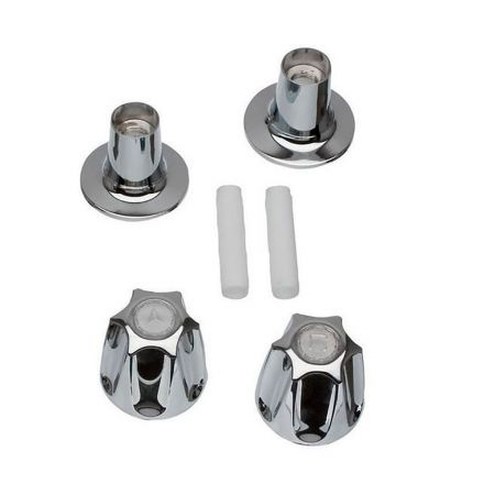 Thrifco Plumbing 9400002 Tub/Shower 2-Handle Remodeling Trim Kit for Price Pfister Verve in Chrome