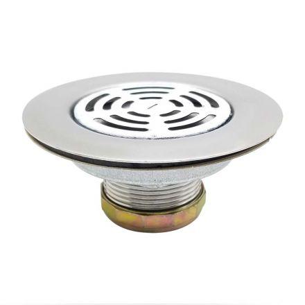 Thrifco Plumbing 9401804 4-1/2 Inch Flat Kitchen Sink Strainer