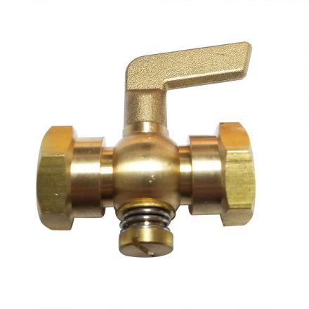 Thrifco Plumbing 9422213 1/4 FP x 1/4 FP Air Cock