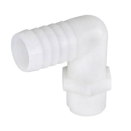Thrifco Plumbing 9429453 Nylon 3/8 Barb X 1/2 Mip Ell