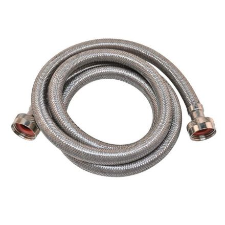 Thrifco Plumbing 9441112 Stainless Steel Washing Machine Hose - 72 Inch Long