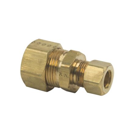 Thrifco Plumbing 9462018 62R 5/8 Inch x 3/8 Inch Lead-Free Brass Compression Union