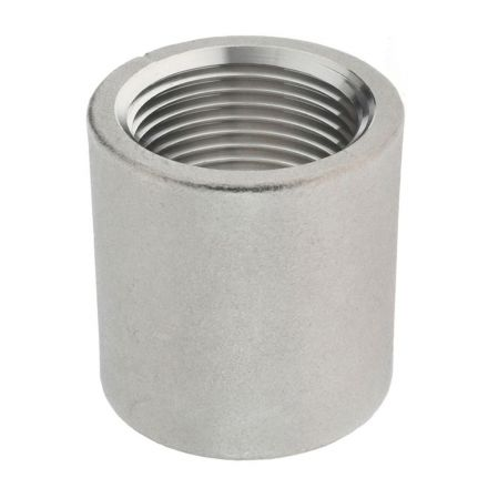 Thrifco Plumbing 9018021 3/4 Coupling Stainless Steel - Packaged