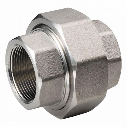 Thrifco Plumbing 8919037 2 Inch Union Stainless Steel - Bulk